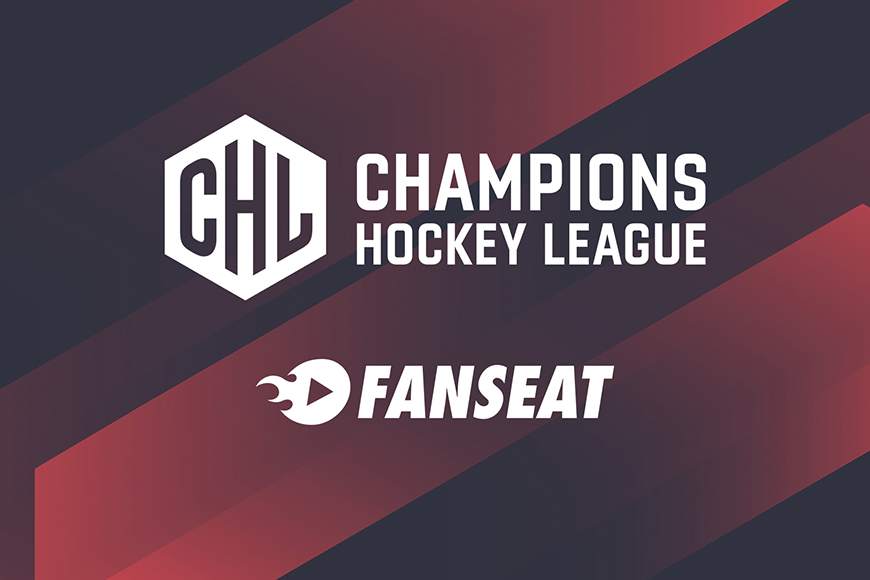 Fanseat and the Champions Hockey league (CHL) have agreed media rights in France to show all games of the 2021-2022 season