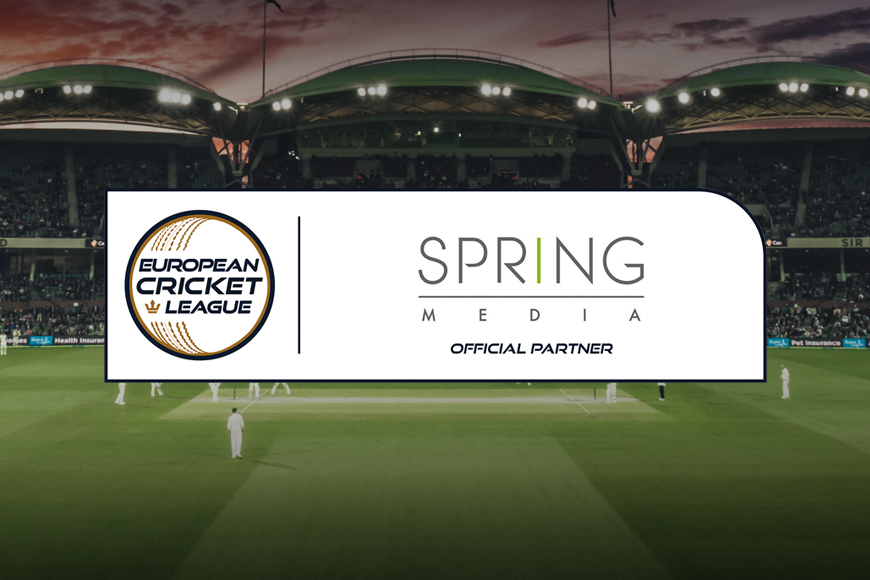 Spring Media mandated to distribute the European Cricket League worldwide