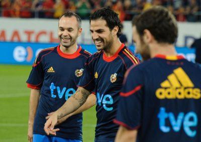 Spain's Euro2012 preparations