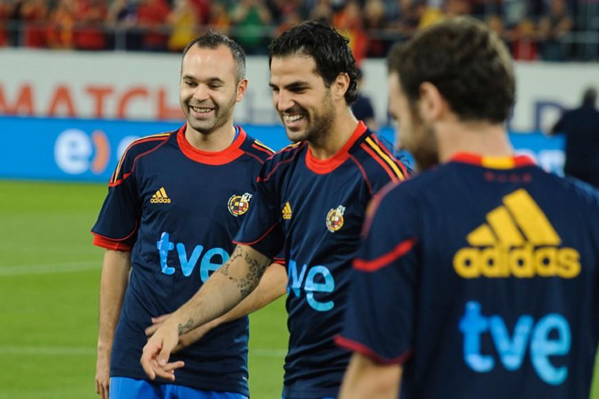 Spain pre-Euro Camp 2012