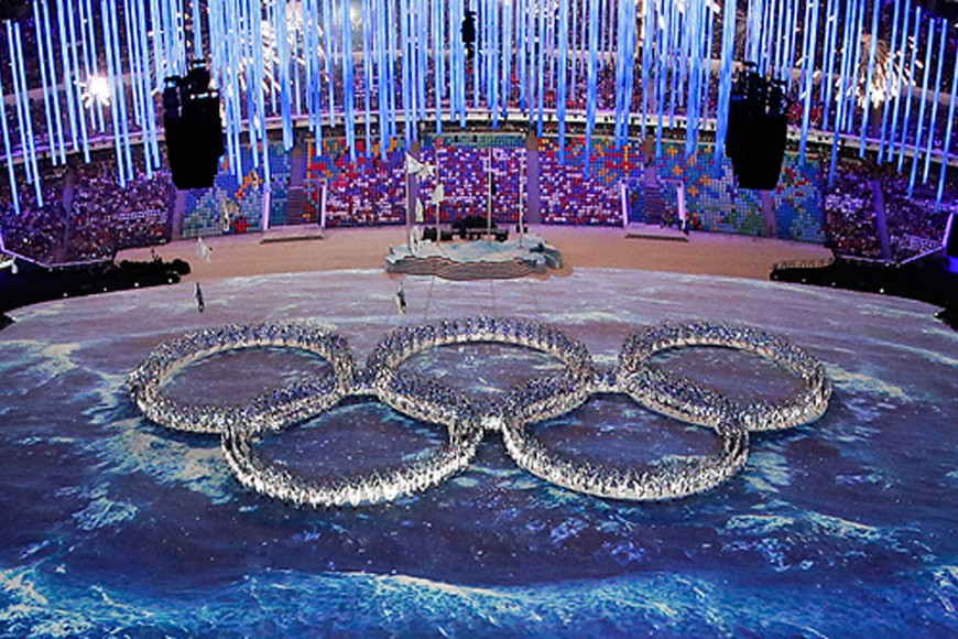 Olympics to Central Asia