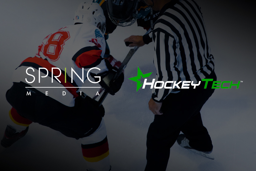 Hockeytech & Spring Media announce media rights agreement for 5 European professional hockey leagues