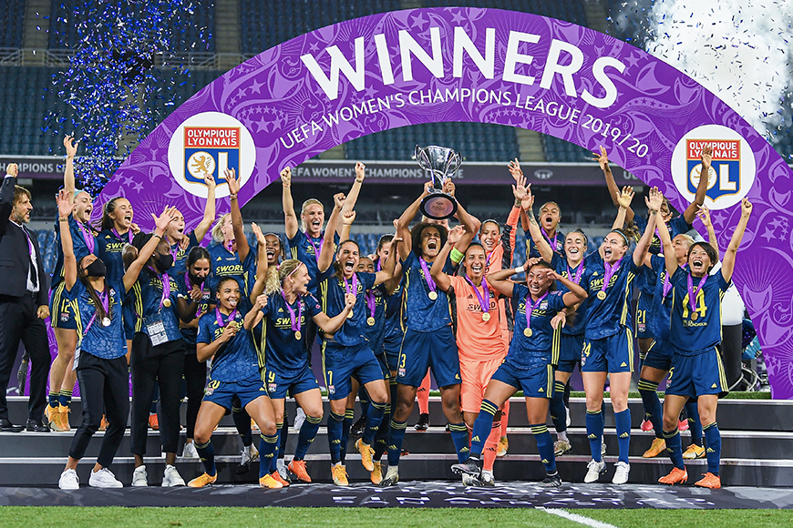 Spring Media partners with top women's clubs for their UWCL 2020/21 campaigns